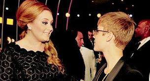 """Adele: """"si tuviera 15 años lo intentaría con Justin Bieber"""""""