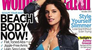 "Ashley Greene en bikini en la portada de ""Woman's Health"""