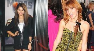 """Bella Thorne y Zendaya posan en el estreno de """"Real Steel"""""""