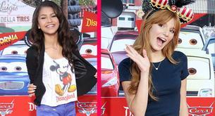 Bella Thorne y Zendaya Coleman inauguran la nueva atracción de 'Cars' en Disneyland