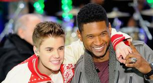 "Justin Bieber promociona ""Under the mistletoe"" junto a Usher"