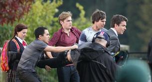 "Fotos: Big Time Rush en pleno rodaje de ""Big Time"""