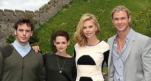 Kristen Stewart posa de Louis Vuitton para su peli 'Blancanieves y el cazador'