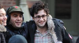 "Daniel Radcliffe y Jack Huston siguen rodando la película ""Killing Your Darlings"""
