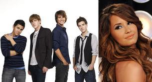 Los chicos de Big Time Rush podrían hacer un dúo con Demi Lovato