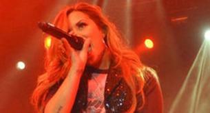 Fotos y vídeos de Demi Lovato en su concierto en Chile
