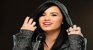 Demi Lovato feliz, a punto de sacar su nuevo álbum