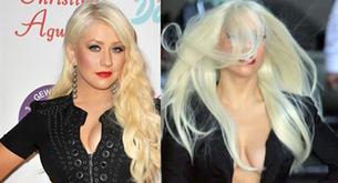 Lady Gaga y Christina Aguilera como dos gotas de agua