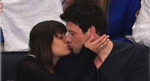 Lea Michele y Cory Monteith (GLEE) confirman su noviazgo con este beso
