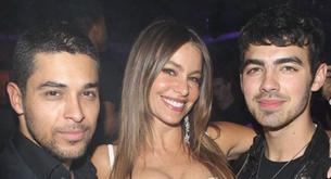 Joe Jonas despide el año junto a Sofía Vergara y Wilmer Valderrama