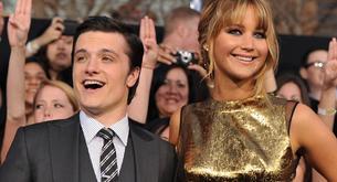 """Josh Hutcherson liga con Jennifer Lawrence en la premiere de """"Los juegos del hambre"""""""