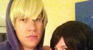 Ashley Tisdale y Scott Speer son Justin Bieber y Selena por Halloween
