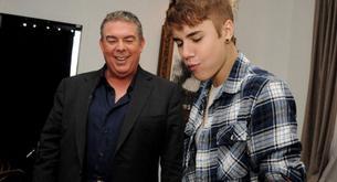 Fotos de Justin Bieber en el programa de Elvis Duran