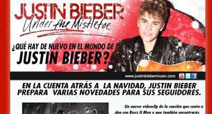 """Justin Bieber lanza una edición especial de """"Under The Mistletoe"""""""