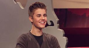 Fotos de Justin Bieber en una entrevista para MTV