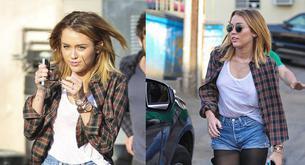 Miley Cyrus estrena nuevo corte de pelo y enseña sus pezones