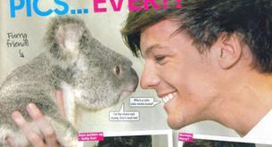Reportaje de los One Direction en la revista 'Top Of The Pops'