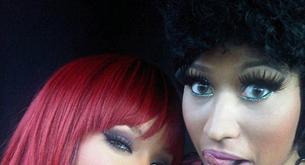 Rihanna y Nicki Minaj presentan su vídeo en los VMA´s