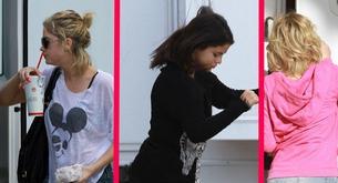 """Vanessa Hudgens, Selena Gómez y Ashley Benson enseñan el trasero en el rodaje de """"Spring Breakers"""""""