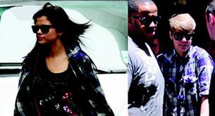 Selena Gómez y Justin Bieber comparten ropa