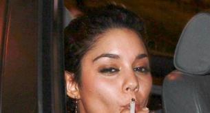 Vanessa Hudgens pillada fumando