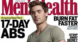 Zac Efron en la portada de Men's Health