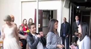 Zac Efron y Taylor Swift le gastan una broma a Justin Bieber