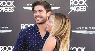 Ashley Tisdale y Zac Efron, reencuentro de amigos en el estreno de 'Rock of Ages'