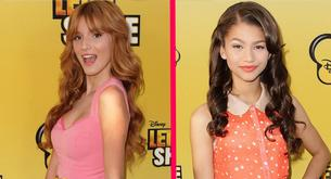 Bella Thorne y Zendaya juntas en la premiere de 'Let It Shine'