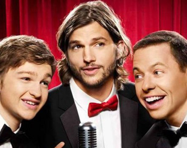 Ashton Kutcher no es tan divertido como Charlie Sheen
