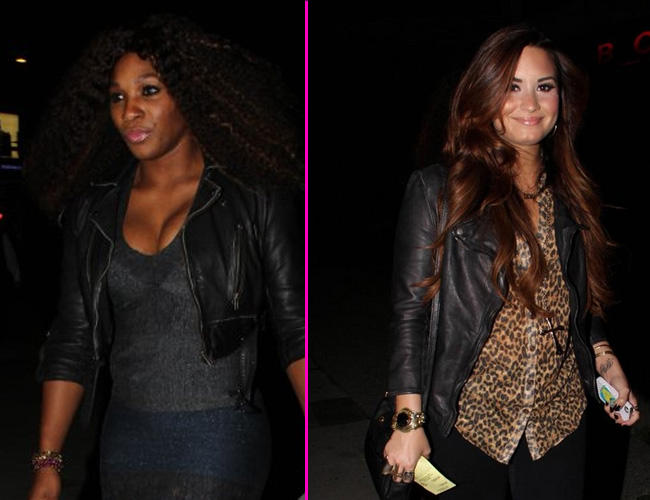 Demi Lovato sale a cenar con Serena Williams