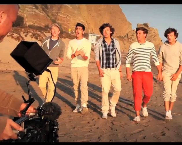 "Making Of del videoclip ""What Makes You Beautiful"""