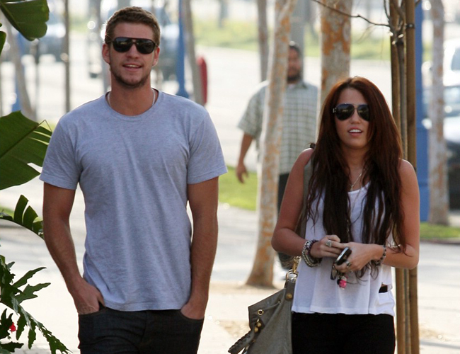 "Miley Cyrus enamorada: ""Liam Hemsworth es perfecto"""