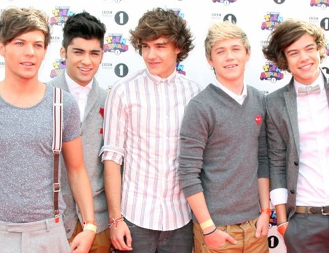 One Direction en los BBC Teen Awards 2011