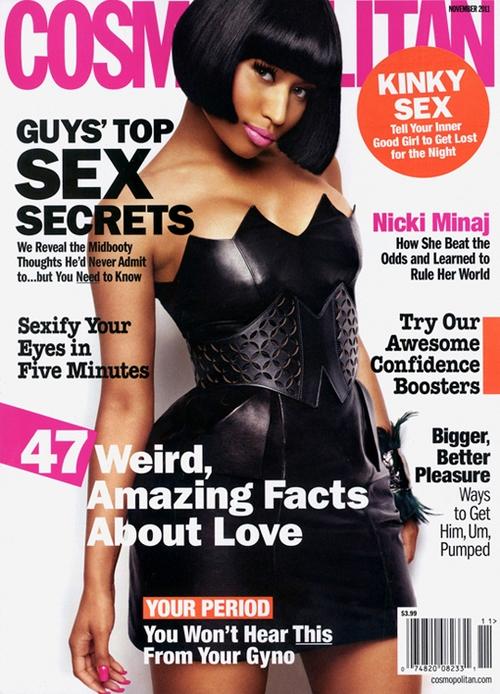 Nicki Minaj: Portada Revista Cosmopolitan