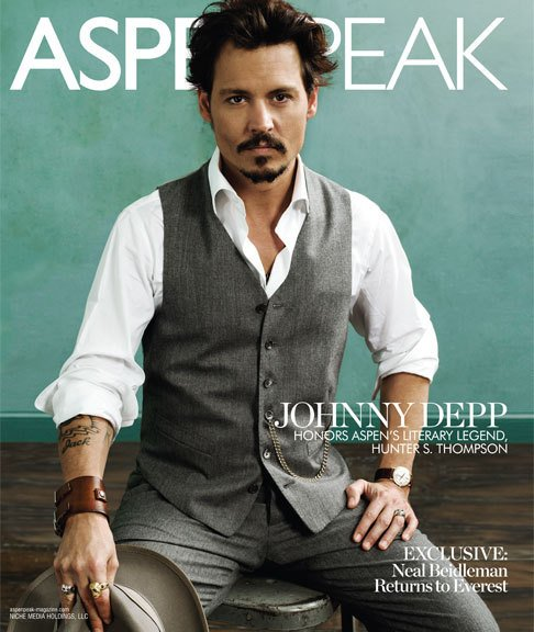 Johnny Depp... ¿esta portada no la he visto ya?