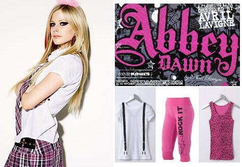 Avril Lavigne, ahora, diseñadora