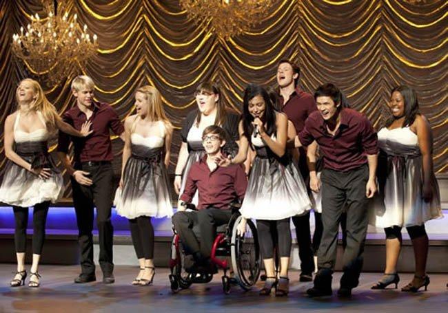 Lo del elenco de Glee si que es un culebrón y no los que dan por la tele
