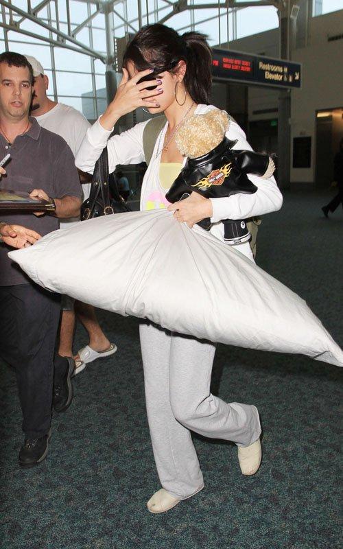 Selena Gómez en Miami para dar inicio a su Tour
