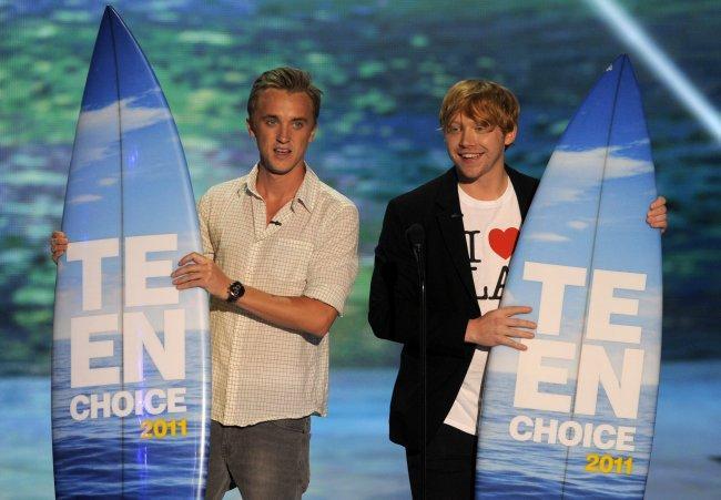 Harry Potter, Selena Gómez y Taylor Swift arrasan en los Teen Choice Awards 2011