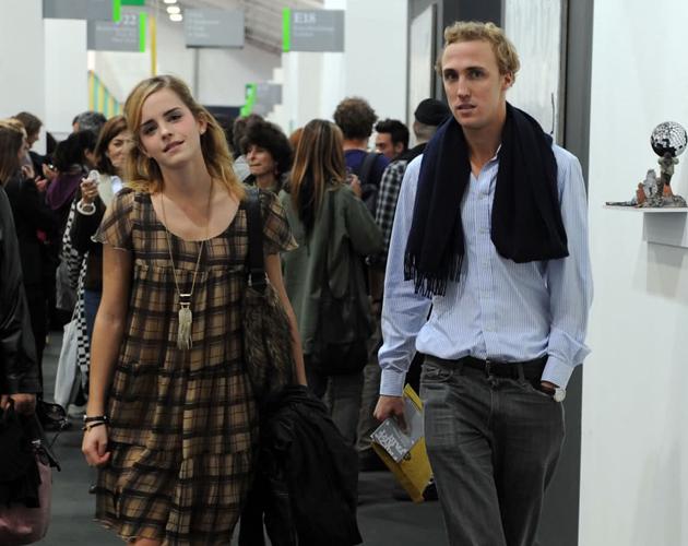 Francis Boulle tuvo un breve romance con Emma Watson pero le dej  243     Emma Watson And Francis Boulle