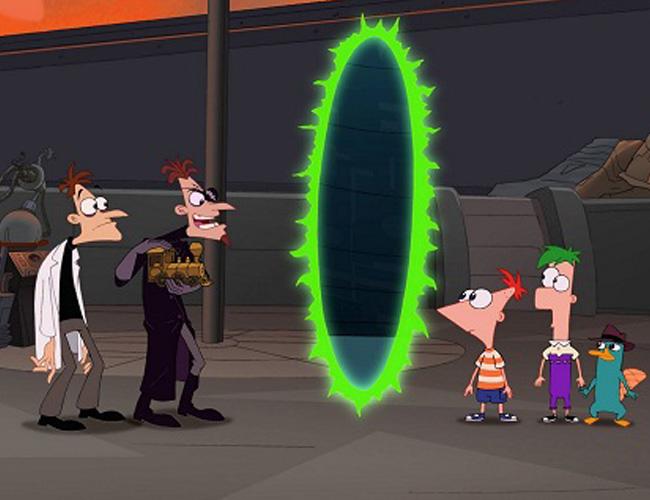 Phineas y Ferb La Pelicula: A travez de la segunda